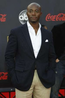 Taye Diggs with pocket square