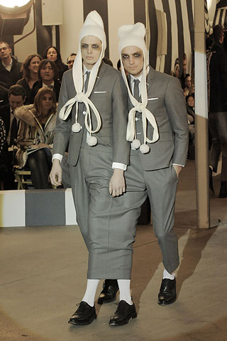 Thom Browne siamese pants