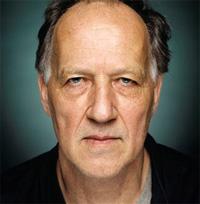 clean-shaven Werner Herzog