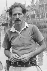 Werner Herzog with moustache